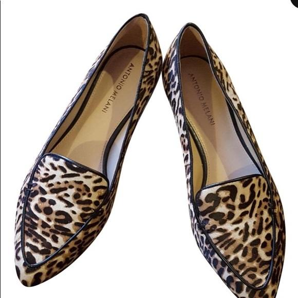 antonio melani leopard shoes